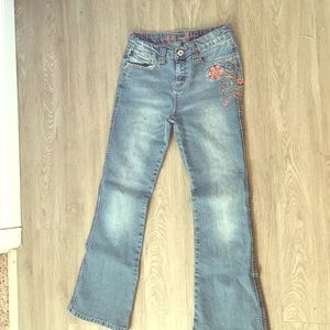 Mudd floral jeans